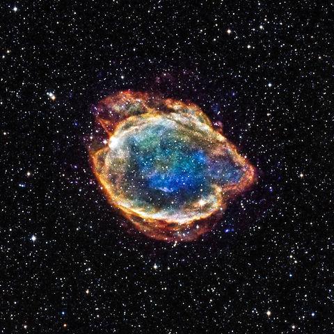 G299 Remanente de supernova tipo Ia, origen del descubrimiento de la Energía Oscura. Author: NASA/CXC/U.Texas